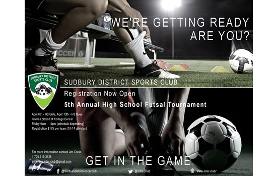 SDSC 5th Annual HS Futsal Tournament